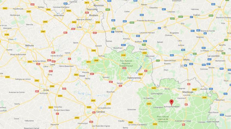 La 17ème édition du FestivalLes Nuits Secrètes a eu lieu les27, 28 et 29 juillet à Aulnoye-Aymeries dans le Nord France. (CAPTURE D'ÉCRAN GOOGLE MAPS / RADIO FRANCE)