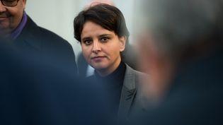 Najat Vallaud-Belkacem, à Marseille, le 28 novembre 2016. (BERTRAND LANGLOIS / AFP)