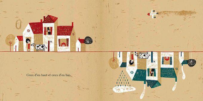 Ceux d'en haut et ceux d'en bas  (Paloma Valdivia / La joie de lire)