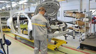 En novembre 2014, Renault inaugure sa première usine en Algérie, à Oran. Aujourd'hui, elle est à l'arrêt. (BECHIR RAMZY / ANADOLU AGENCY)