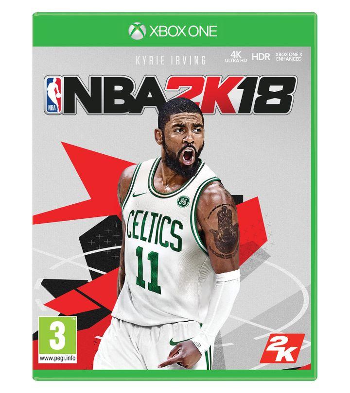 Kyrie Irving est en couverture de NBA2K18