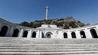 Le mausolée où repose la dépouille de Franco, le 21 août 2018, à 40 km de Madrid (Espagne). (MARISCAL/EFE/MAXPPP)