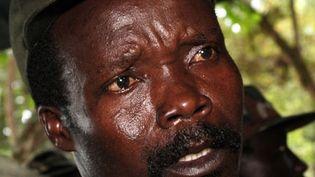 Joseph Kony, leader de l'Armée de Libération du Seigneur, au sud du Soudan, le 12 novembre 2006. (AFP PHOTO/STUART PRICE)