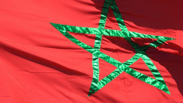 Le drapeau marocain, le 21 décembre 2010. (MAXPPP)