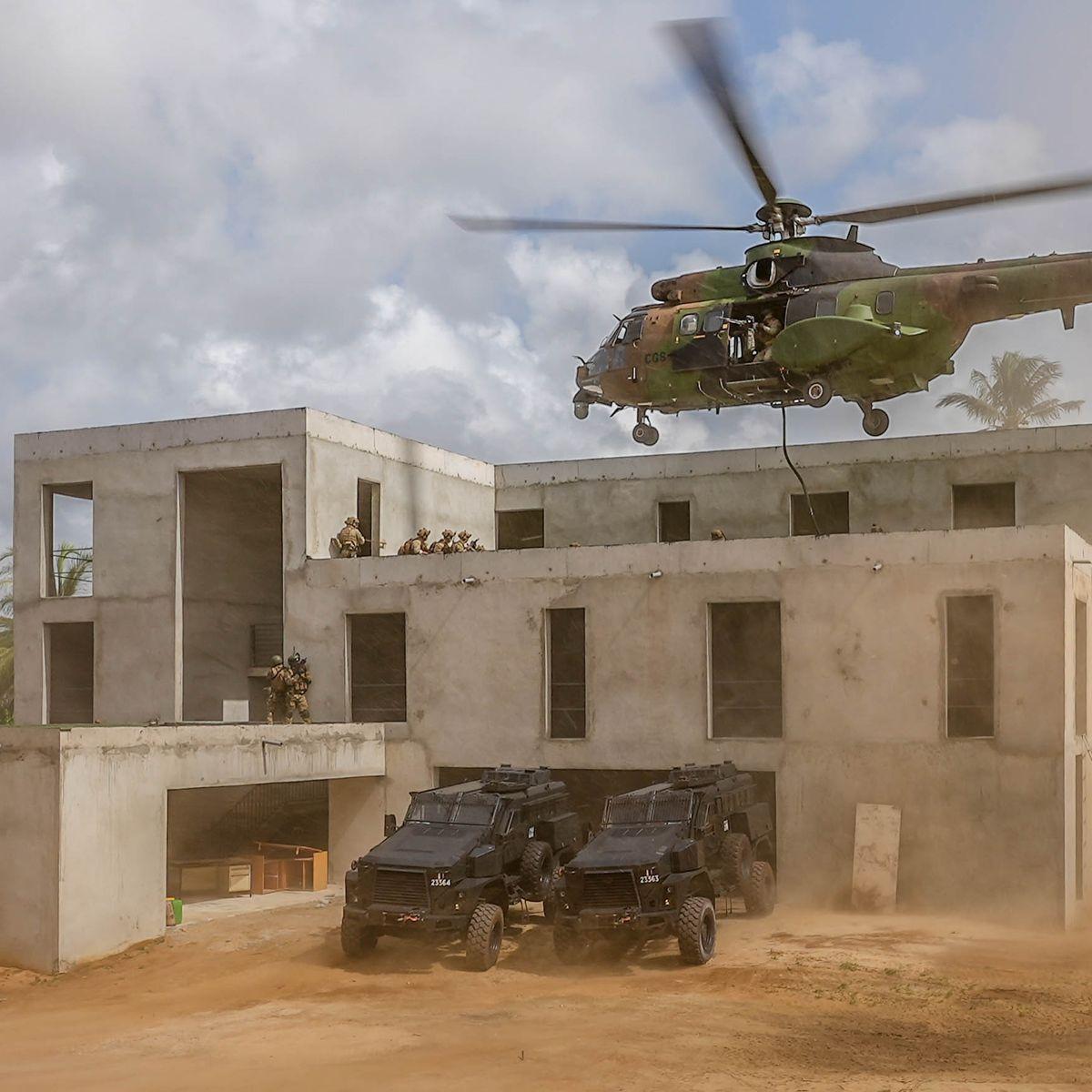 """Unique en son genre"""", un campus antiterroriste sort de terre en Côte d' Ivoire"""