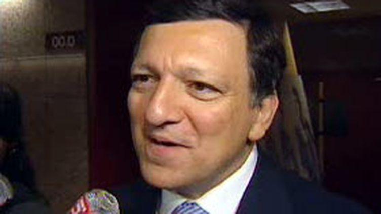 Le président de la Commission européenne, José Manuel Barroso. (© France 2)