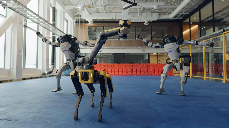 EbeneMagazine - FR - Les robots Boston Dynamics le savent aussi. . . danser le tour