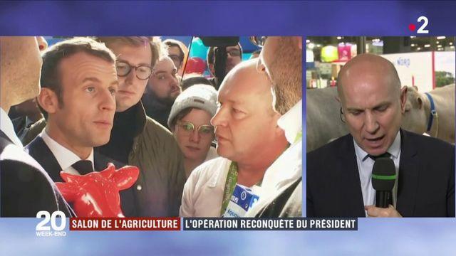Salon de l'agriculture : l'opération reconquête du président