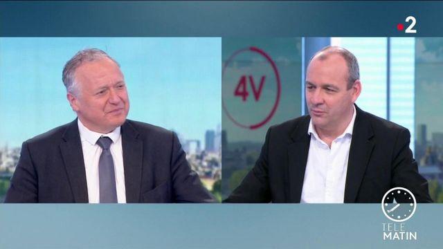 """Télétravail : Laurent Berger plaide pour des """"dispositifs d'accompagnement"""", face à la """"lassitude"""" des salariés"""