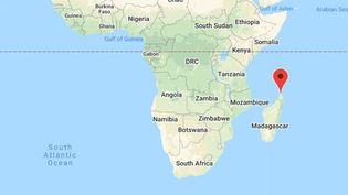 Diego Suarez, la plus grande ville du nord de Madagascar. (GOOGLE MAPS / FRANCEINFO)