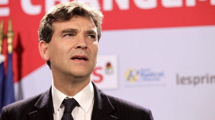 Arnaud Montebourg, député PS de Saône-et-Loire. (JACQUES DEMARTHON / AFP)