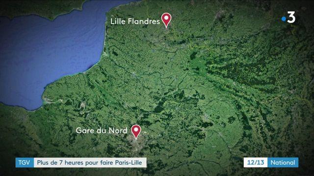 TGV : 6 heures de retard sur un Paris-Lille