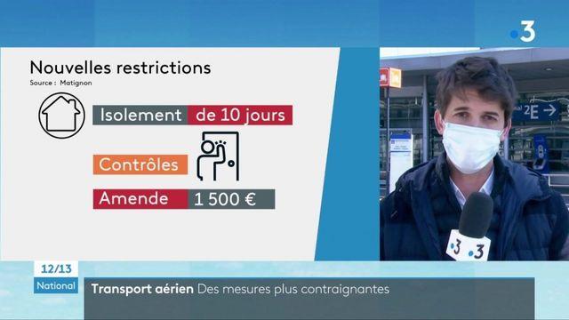 Covid-19 : les voyageurs en provenance de quatre pays et de Guyane devront s'isoler dix jours à leur arrivée en France