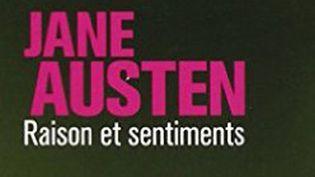 """Détail de la couverture de """"Raison et sentiments""""  (Collection 10-18)"""