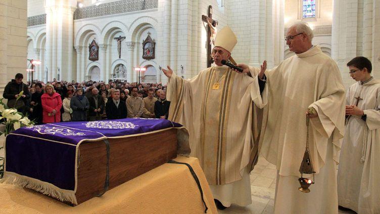 La cérémonie du 15 février 2015 en la cathédrale d'Angoulême  (PHOTOPQR/CHARENTE LIBRE)