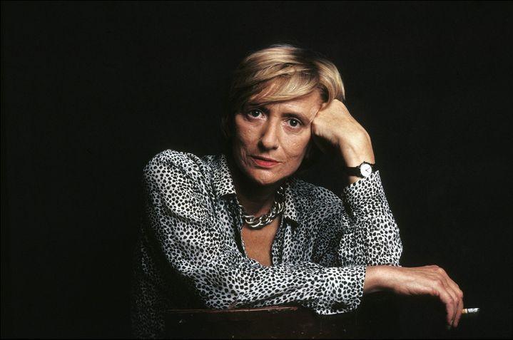 Françoise Sagan en 1987.  (ULF ANDERSEN / AURIMAGES)