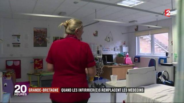 Grande-Bretagne : quand les infirmières remplacent les médecins