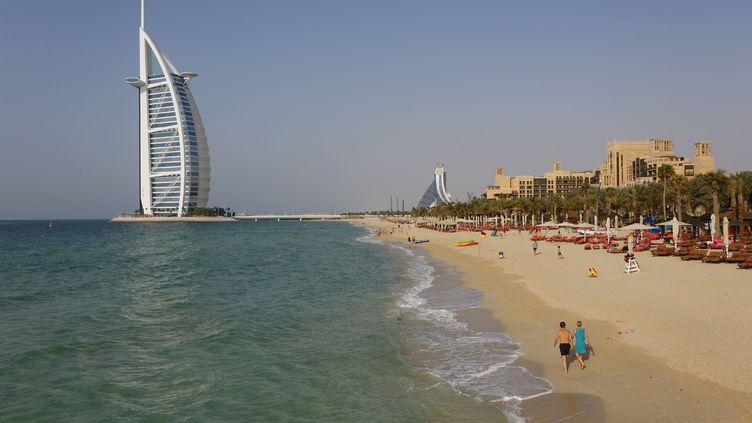 Le faits se sont produits sur une plage de Dubaï (Emirats arabes unis). (HAUSER PATRICE / HEMIS.FR / AFP )