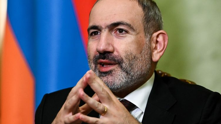 Le Premier ministre arménienNikol Pashinyan, le 6 novembre 2020 à Erevan. (AFP)