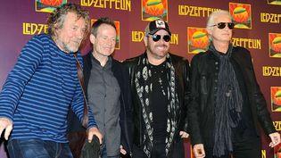 Robet Plant, John Paul Jones, Jason Bonham et Jimmy Page le 9 octobre 2012.  (Evan Agostini/AP/SIPA)