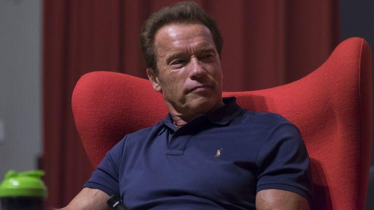 L'ancien gouverneur de Californie Arnold Schwarzenegger, le 27 septembre 2015 à Madrid (Espagne). (OSCAR GONZALEZ / NURPHOTO / AFP)
