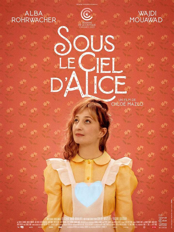 "The poster of & nbsp;""Under Alice's sky"" by Chloé Mazlo.  (AD VITAM)"
