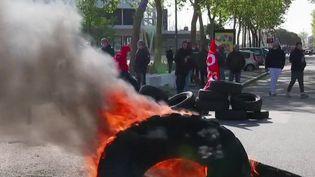 Morbihan : les salariés de la Fonderie de Bretagne manifestent contre la mise en vente de leur usine (France 3)