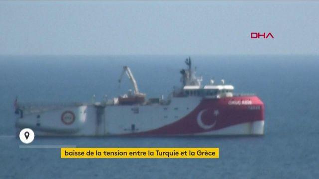 """Méditerranée : la Turquie retire son navire, disant vouloir """"des relations de bon voisinage"""""""