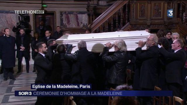 Hommage à Johnny : retour sur une cérémonie d'hommages à la Madeleine