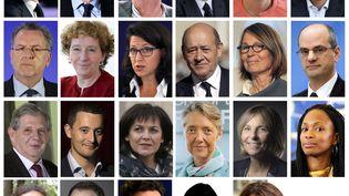 Les membres du gouvernement d'Edouard Philippe. (AFP)