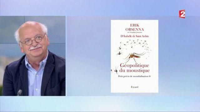 Culture : Erik Orsenna raconte les moustiques