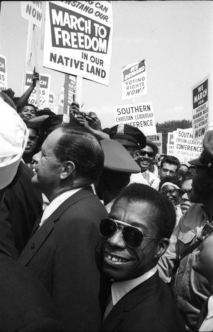James Baldwin  (Dan Budnick)
