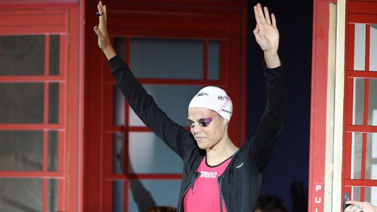 La nageuse de Marseille, Laure Manaudou