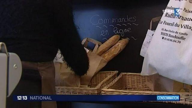Une application propose de commander son pain depuis son mobile