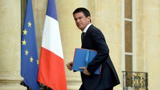 Manuel Valls à son arrivée à l'Elysée, le 27 juillet 2016. (BERTRAND GUAY / AFP)