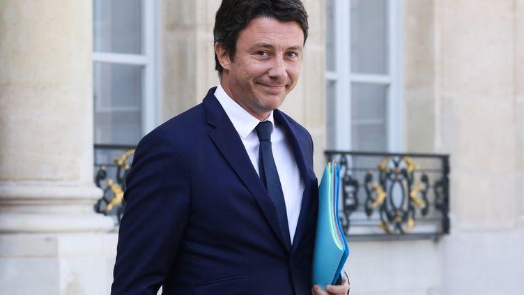 Le porte-parole du gouvernement, Benjamin Griveaux, le 19 septembre 2018 à Paris. (LUDOVIC MARIN / AFP)
