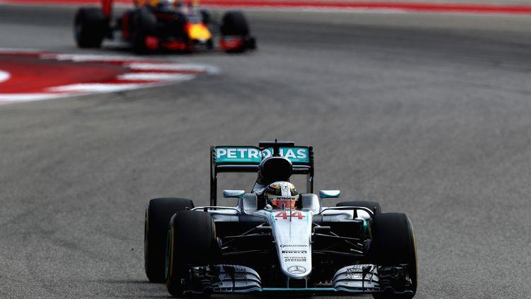 Lewis Hamilton vainqueur du Grand Prix des Etats-Unis. (CLIVE MASON / GETTY IMAGES NORTH AMERICA)