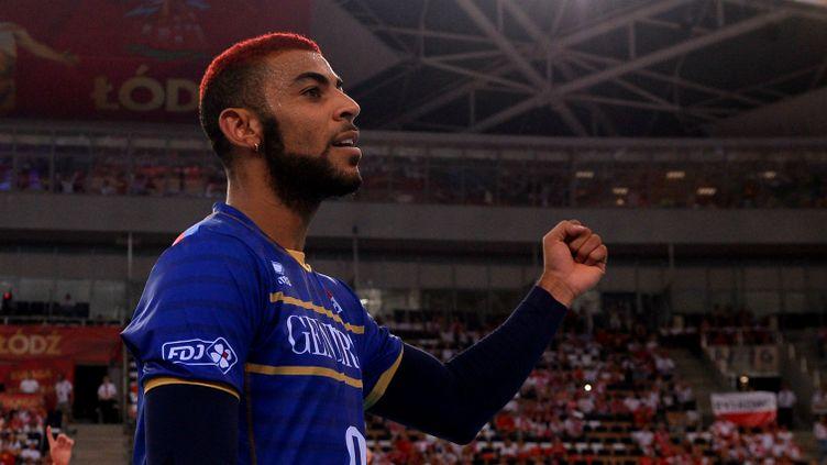 Le volleyeur français Earvin Ngapeth.
