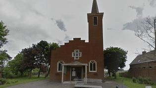 L'église Saint-Nicolas à Zuydcoote. (GOOGLE STREET VIEW / FRANCEINFO)