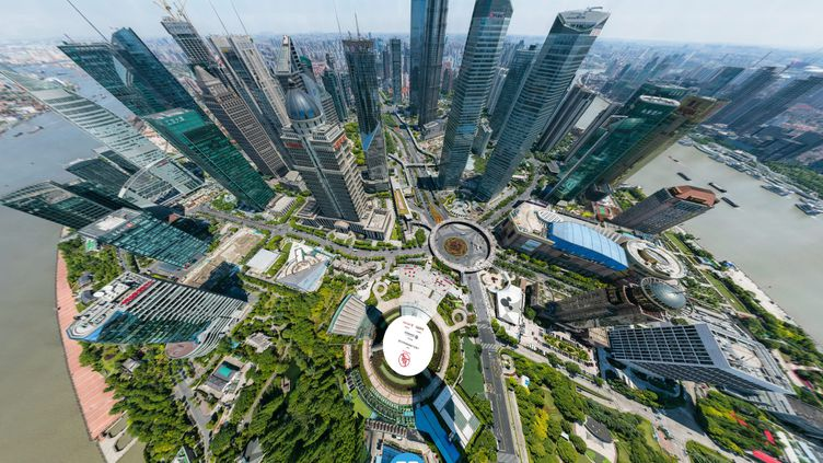 Capture d'écran de la photo de Big Pixel prise à Shanghai (Chine). (BIG PIXEL)