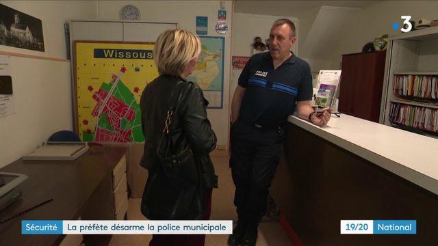 Sécurité : à Wissous, la préfère désarme la police municipale