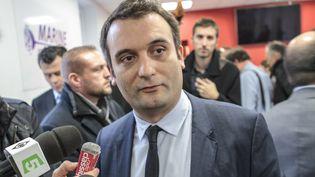 Le vice-président du Front national,Florian Philippot, le 16 novembre 2016 à Paris. (CHRISTOPHE BONNET / CITIZENSIDE / AFP)