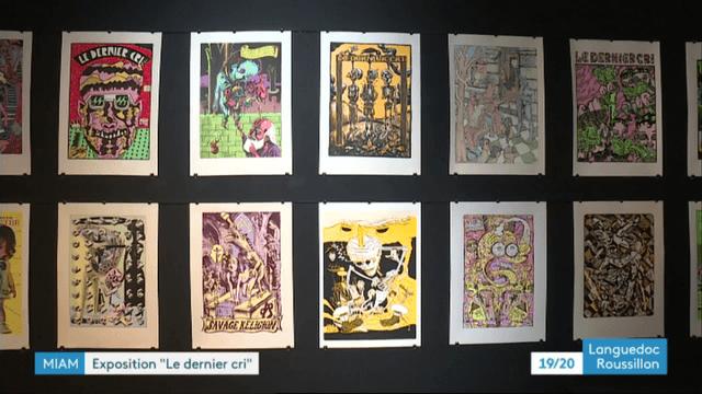 """Exposition """"Le Derner Cri"""" à Sète"""