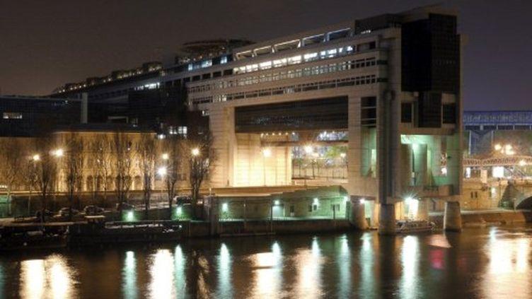 """Le ministère de l'Economie et des Finances à Paris, la fameuse """"citadelle de Bercy"""" (AFP - DYLAN CALVES)"""