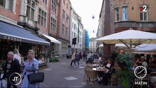 Une rue à Stockholm. (France 2)