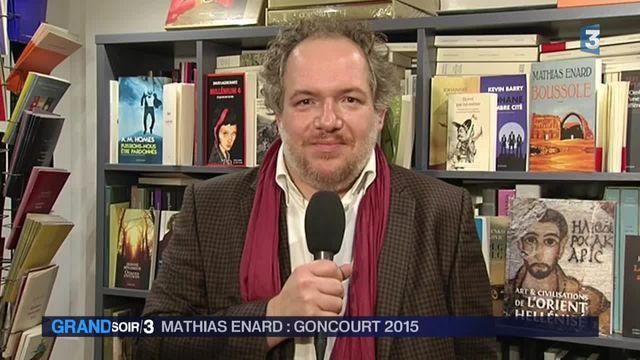 """Goncourt : Mathias Enard évoque un """"moment extraordinaire de confusion"""""""