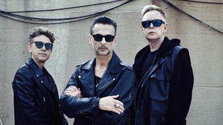 Depeche Mode - Martin Gore, Dave Gahan et Andrew Fletcher - à New York en juillet 2016.  (Anton Corbijn)