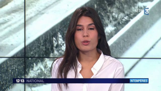 Intempéries : le nord de la France bloqué par la neige