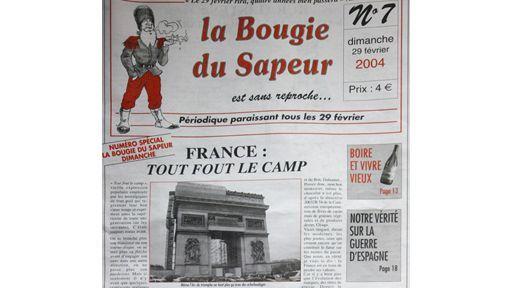 La Une du 29 février 2004  (AFP / Jacques Demarthon)