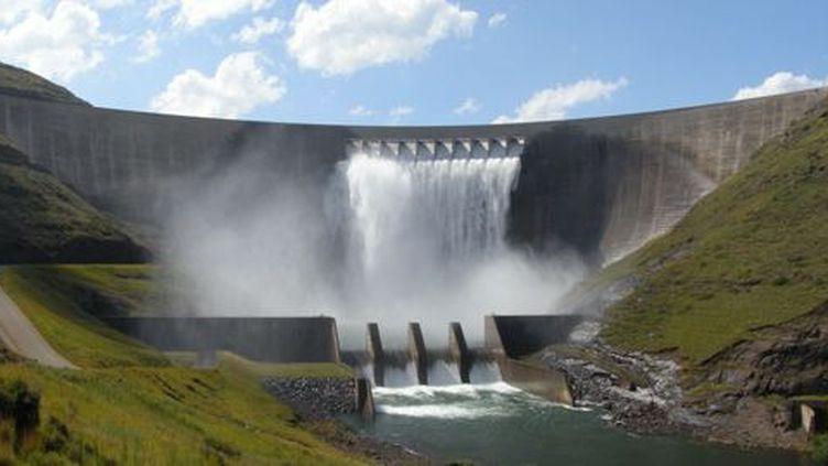 Le barrage de Katse fait partie du plan de fourniture d'eau potable pour l'Afrique du Sud. (DR)